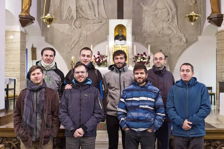 Duchovní obnova studentů - redemptoristů z Bratislavy