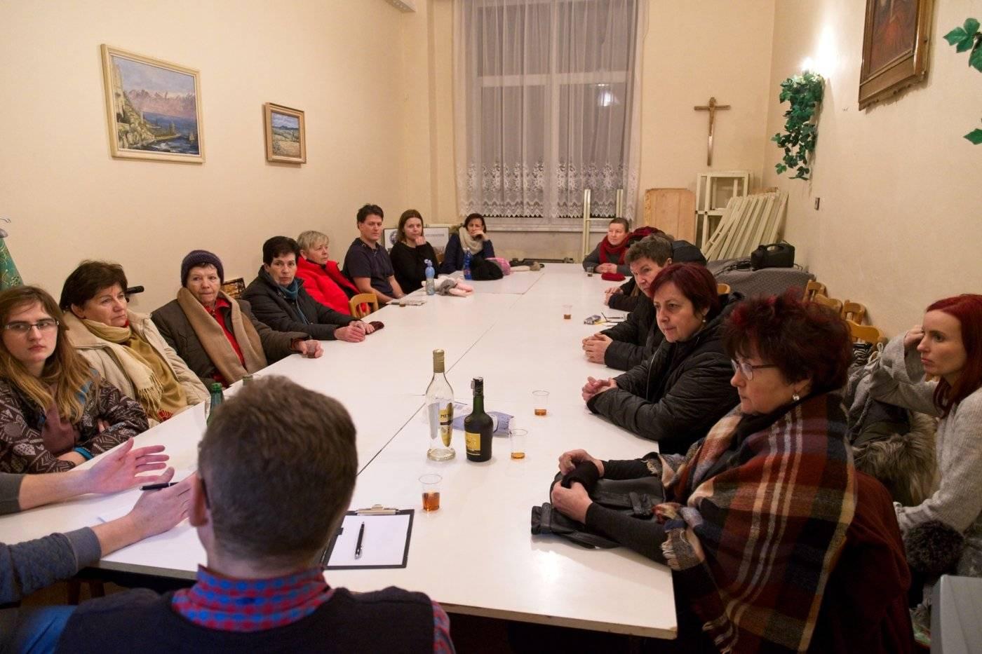 Příprava hlavní poutě 200. výročí smrti sv. Klementa Hofbauera v Tasovicích