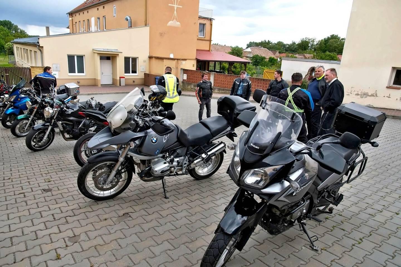 Pouť motorkářů v Tasovicích, rodišti sv. Klementa Hofbauera