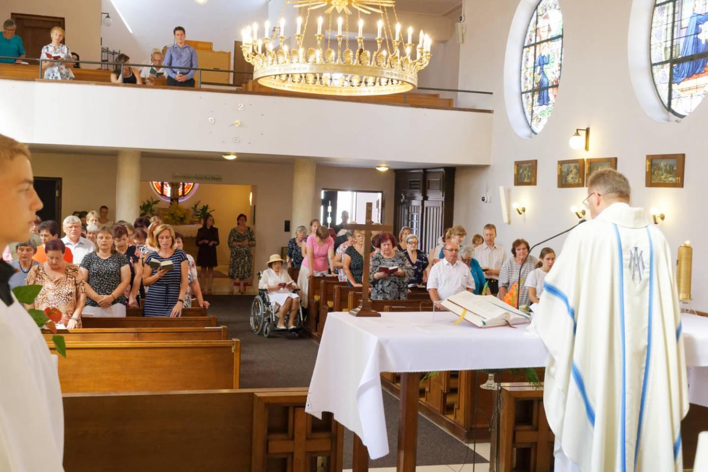 Poutní slavnost Nanebevzetí Panny Marie v Tasovicích