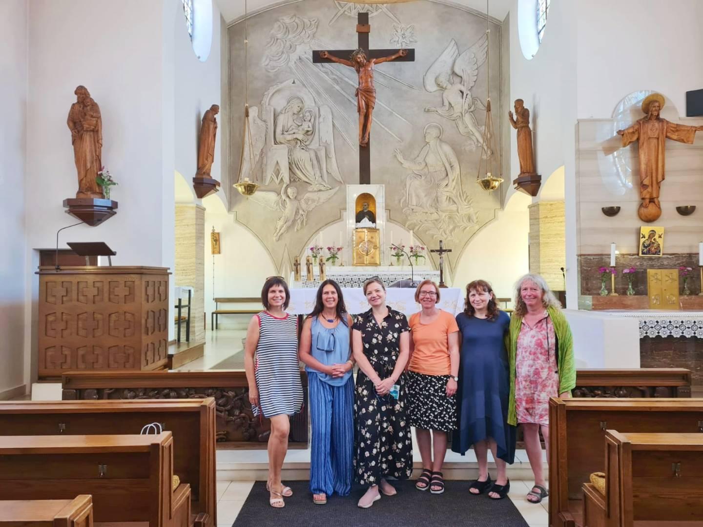 Pouť žen ze středních Čech k sv. Klementu Hofbauerovi
