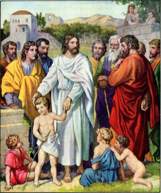 Jestliže se neobrátíte a nebudete jako děti, nevejdete do Božího království