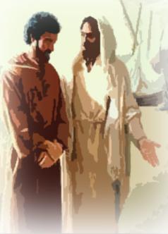 Cesta světla - 10. Vzkříšený Ježíš uděluje Petrovi primát