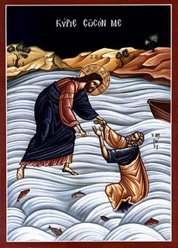 V moři těžkostí se dívejme s důvěrou na Ježíše