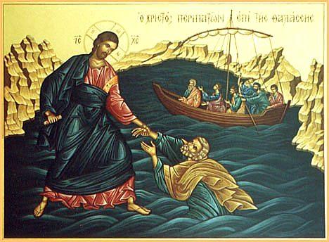 Vykročit s Kristem do nesnází života