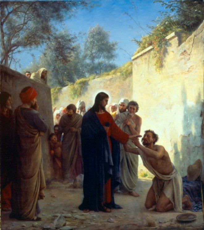 Nechat se uzdravit Ježíšem k oslavě Boha