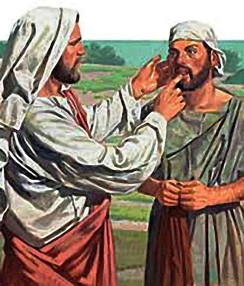 Ježíš uzdravuje náš sluch i naši řeč