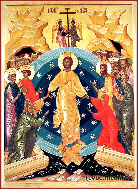 Ježíš po své smrti sestupuje do podsvětí