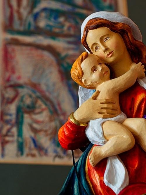 Panna Maria bolestná