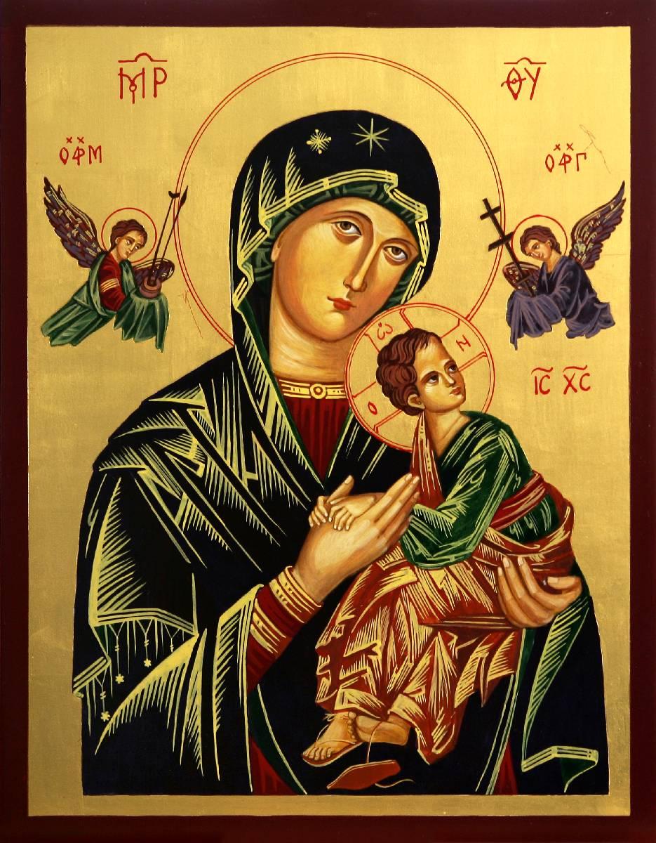 Panna Maria je naší Matkou ustavičné pomoci
