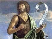 Advent - velikost Jana Křtitele