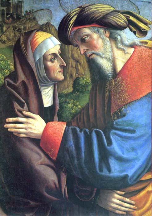 Sv. Jáchym a Anna - rodiče Panny Marie
