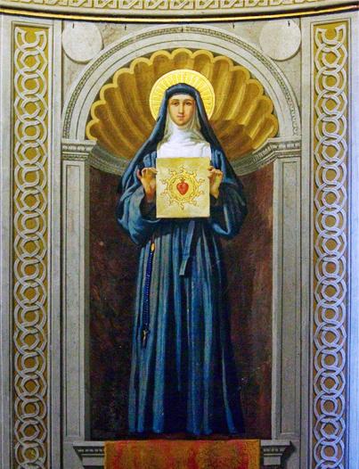 Sv. Markéta Alacoque a úcta k Nejsvětějšímu Srdci Ježíšovu