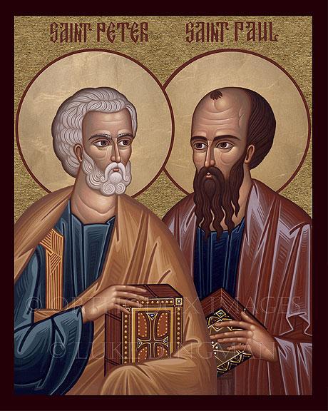 Opřít se o víru apoštolů Petra a Pavla