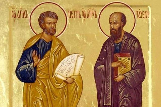Petr a Pavel - apoštolové proměněni Bohem
