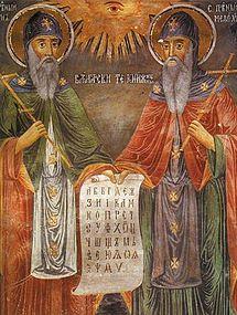 Sv. Cyril a Metoděj - nositelé světla víry v Boha a kultury života